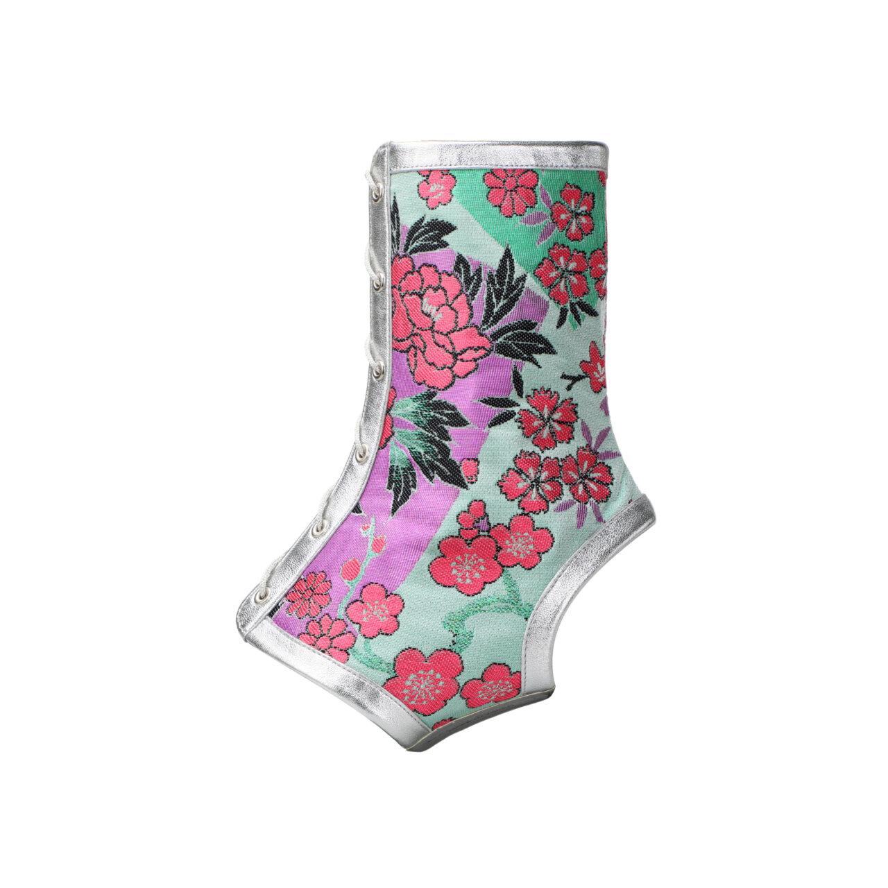 『Obi de Boots 粋』花雅〜Hanamiyabi〜(ブーツカバーのみ)の画像