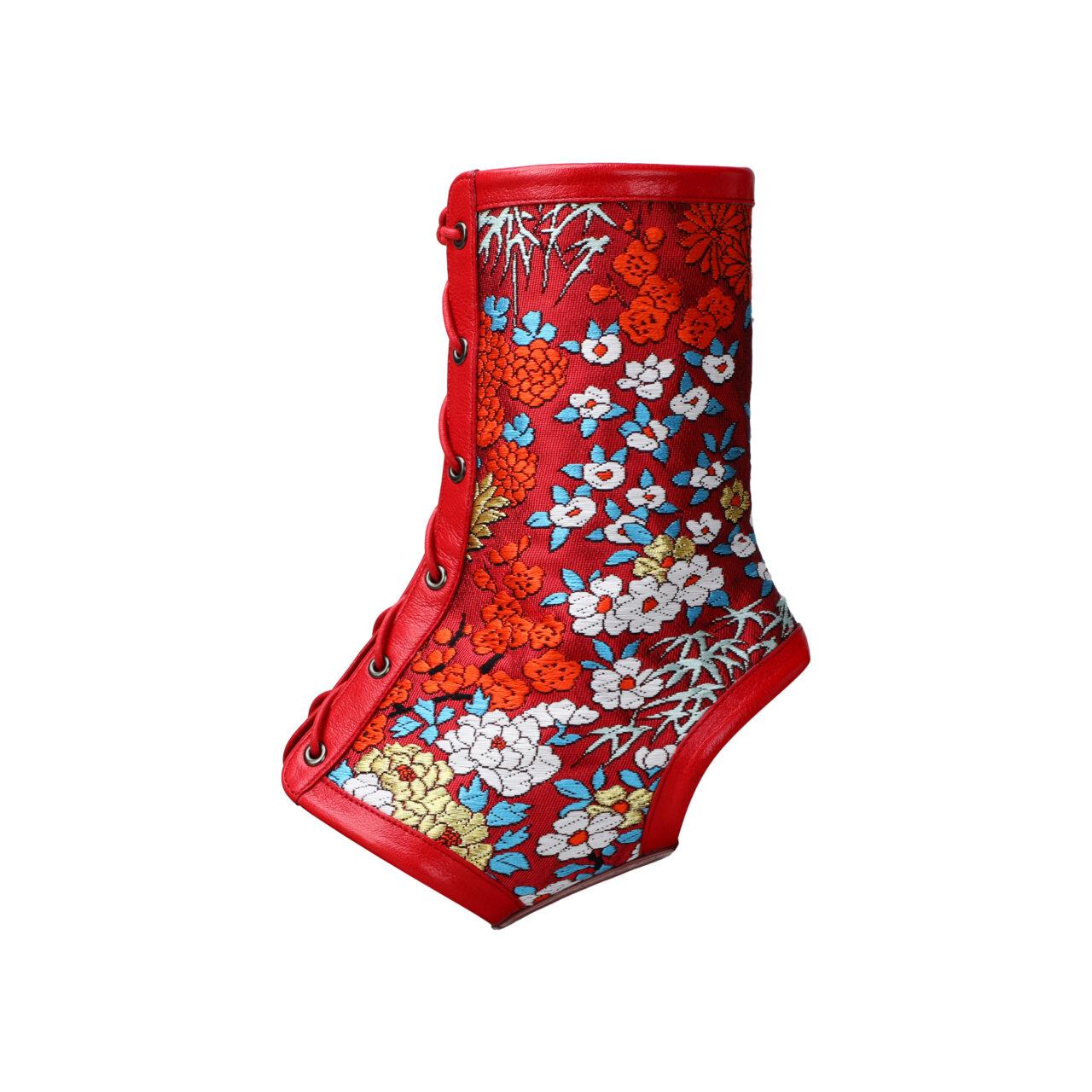 『Obi de Boots 粋』百花〜Hyakka〜(ブーツカバーのみ)の画像